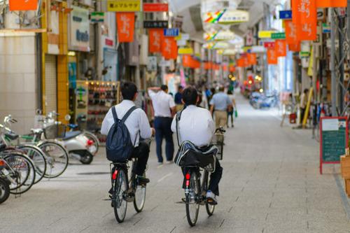 自転車の 自転車通学 保険 : 自転車で通勤・通学・買い物を ...