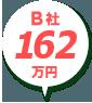 B社:250万円